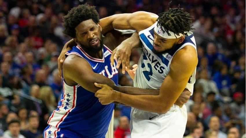 How severely should the NBA have sanctioned Karl-Anthony Towns and Joel Embiid?