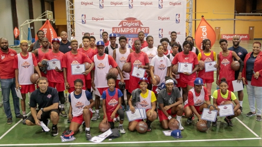 Young Caribbean 'ballers to participate in Digicel NBA Jumpstart's NBA Experience