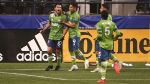 Seattle Sounders 3-0 Los Angeles FC: MLS champions go top as Lodeiro sets record