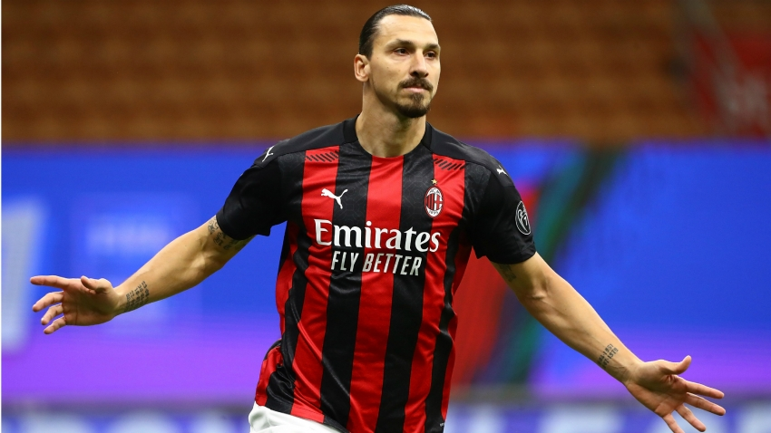 Ibrahimovic could play on one leg until he's 50! Totti hails longevity of Milan superstar