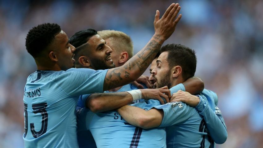 Manchester City 6 Watford 0: Sterling double helps secure unprecedented domestic treble