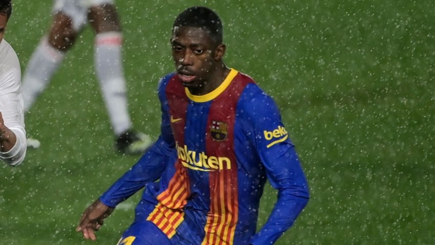 Barca's Dembele feeling good amid speculation over Camp Nou future