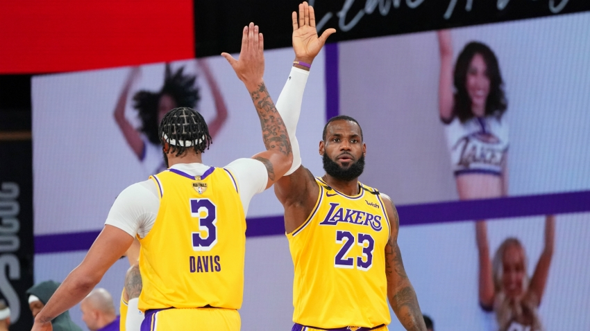 NBA Finals: No jealousy between Lakers superstars LeBron and Davis in pursuit of ring