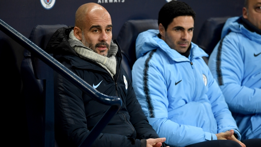 Guardiola thinks 'incredible' Arteta will be next Man City manager