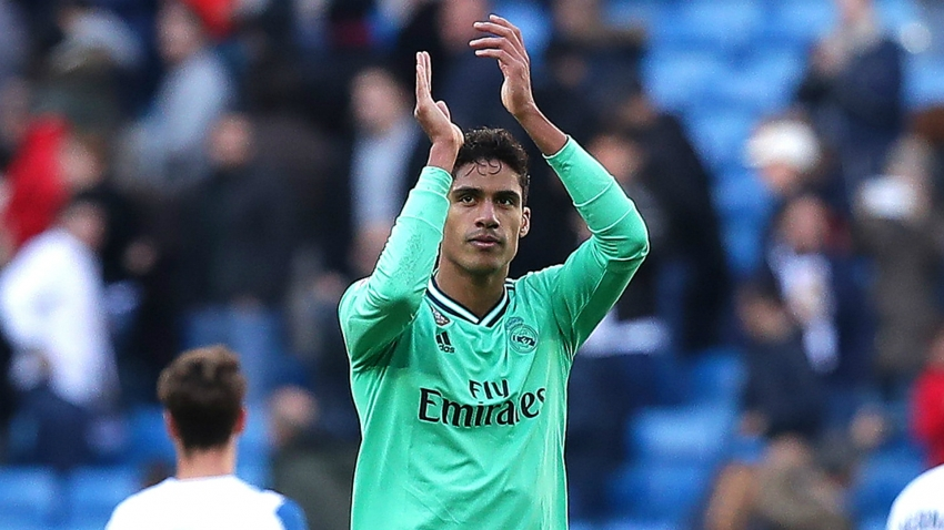 Varane praises 'patient' Real Madrid after Espanyol win