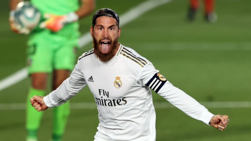 Ramos revels in responsibility of role as Real Madrid match-winner