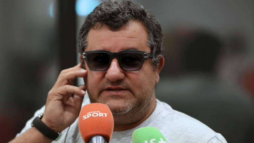 Pogba's agent Raiola blasts Neville and doubles down on Solskjaer criticism