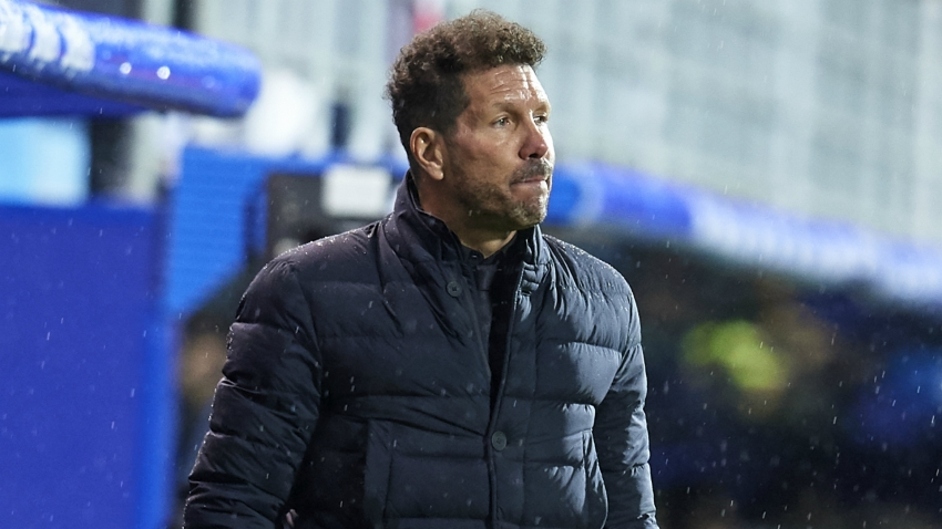 Simeone accuses Atletico of 'losing a half' as Saul admits poor starts are a concern