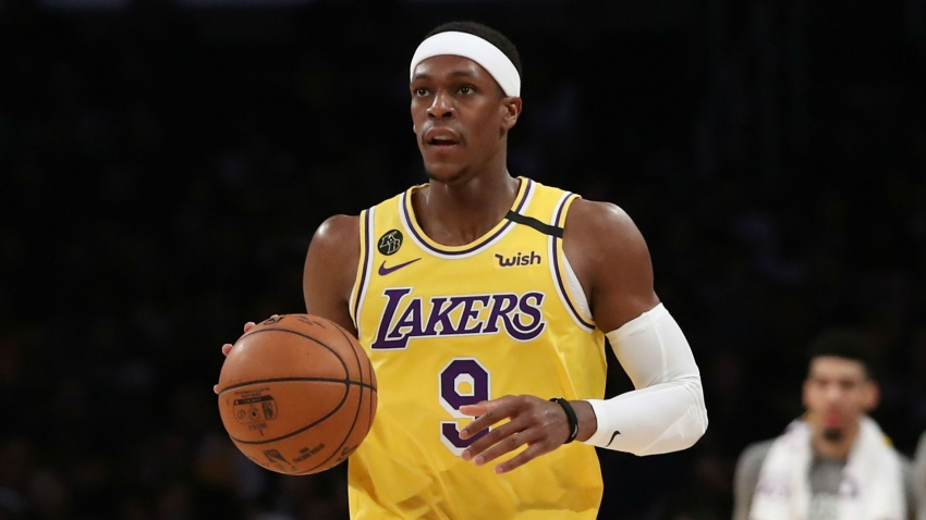 Lakers' Rondo out for up to eight weeks with thumb fracture