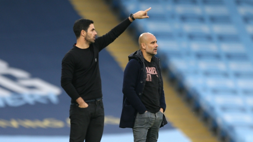 Guardiola signs City deal: Champions League the focus point for Pep - Arteta