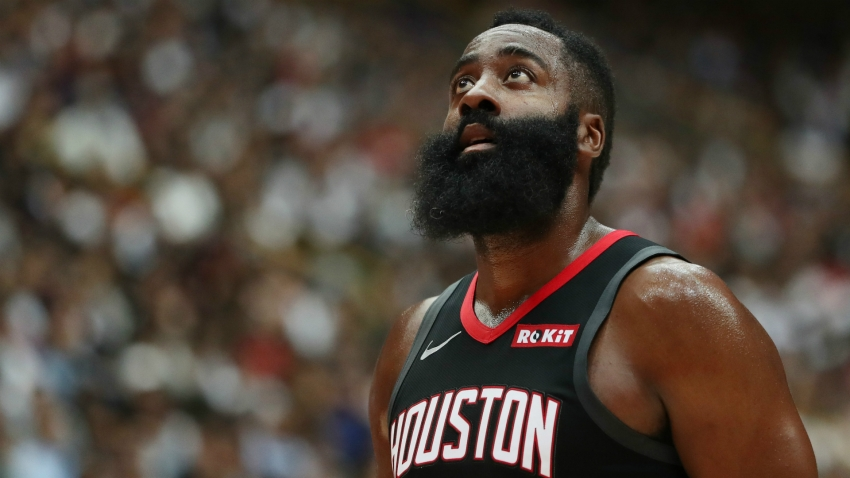 Amazed Russell Westbrook says 'nobody else' can match James Harden