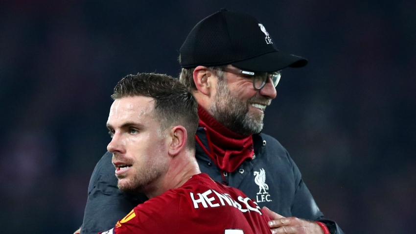 Klopp made never-say-die attitude part of Liverpool's identity - Henderson