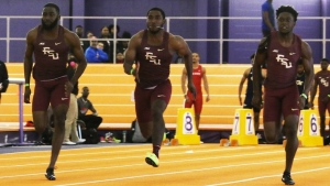 Haitian sprinter Rincher breaks 60m national record on debut for FSU
