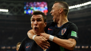 Croatia 2 England 1 (aet): Mandzukic strike sets up World Cup final with France