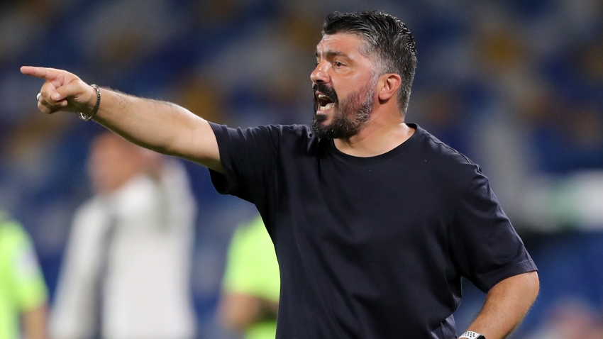 Gattuso not yet turning focus to Barcelona