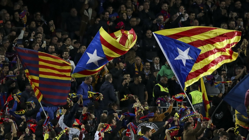 RFEF insists security not its responsibility ahead of pre-Clasico political protests