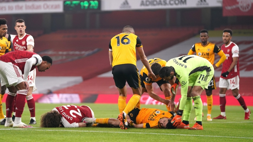 BREAKING NEWS: Wolves' Jimenez suffered fractured skull against Arsenal