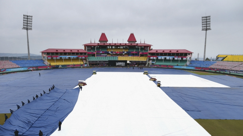 India v South Africa ODI washed out
