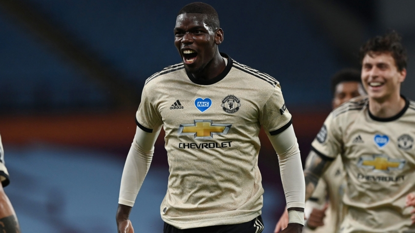 Pogba is enjoying himself at Man Utd – Solskjaer praises midfielder