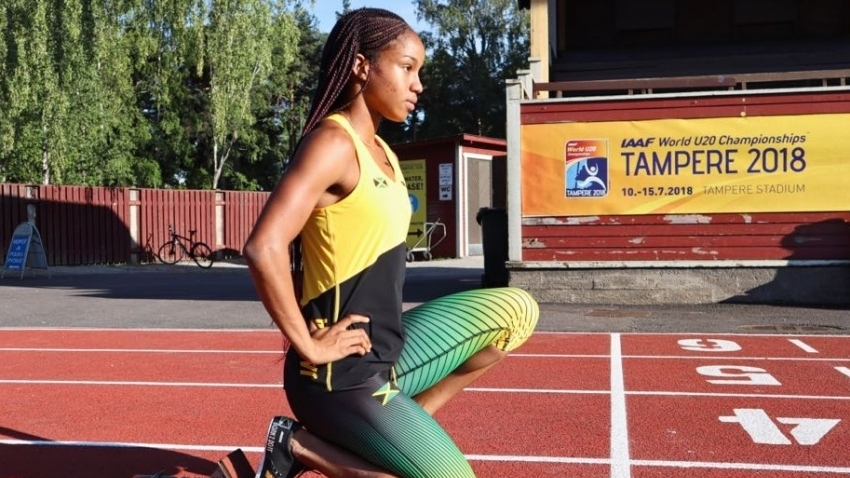 Briana Williams back in the 200m at Carifta after schedule change