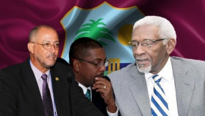 From left: Ricky Skerritt, Dave Cameron, and Conde Riley