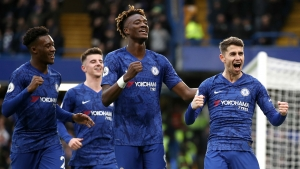 Chelsea 3-0 Burnley: Jorginho, Abraham and Hudson-Odoi provide home comforts for Lampard