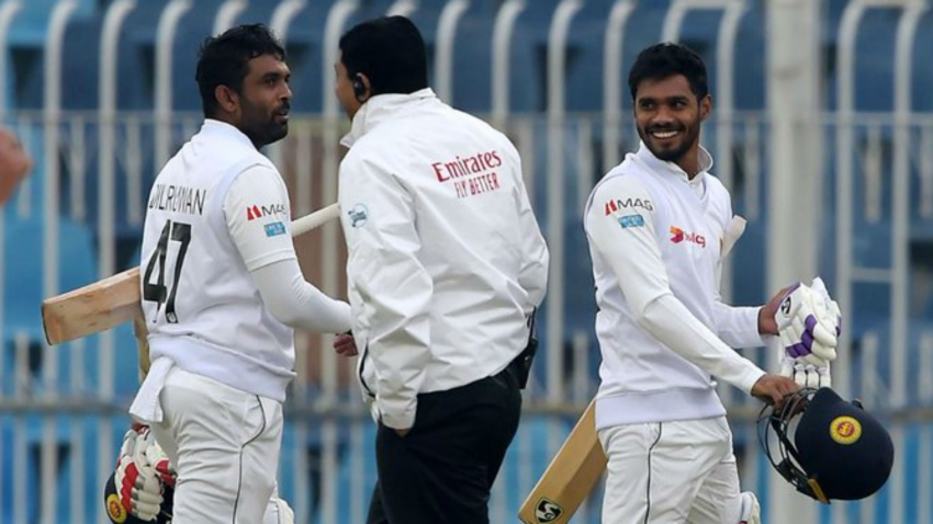 Pakistan and Sri Lanka again frustrated by the weather