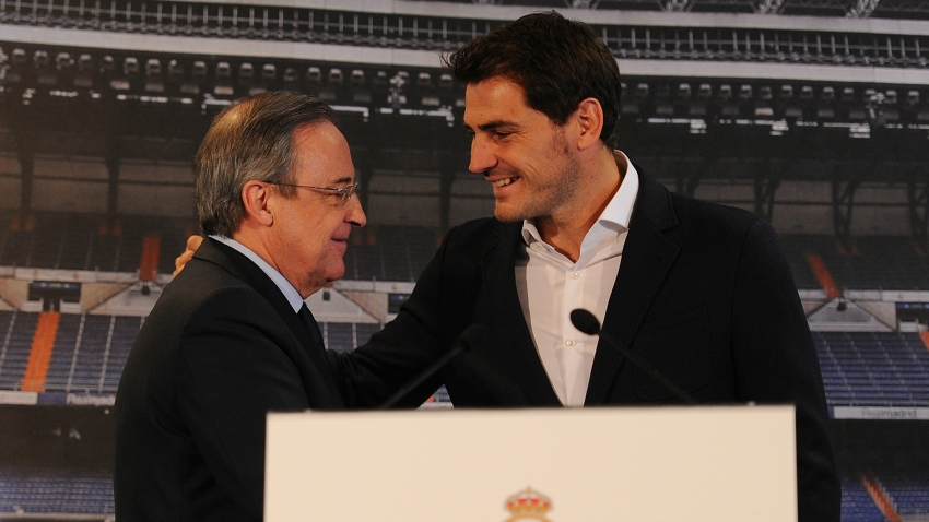 Florentino Perez honours Iker Casillas: He has conquered the hearts of the Madridistas