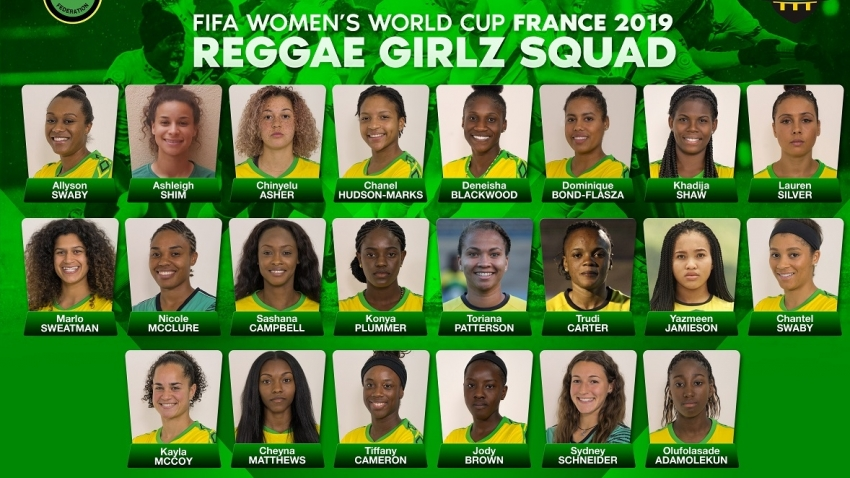 Jamaica names 22 of 23 players in Reggae Girlz World Cup squad