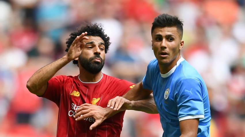 Klopp's teams go at you like animals - Rodri in awe of 'one of the best' Liverpool