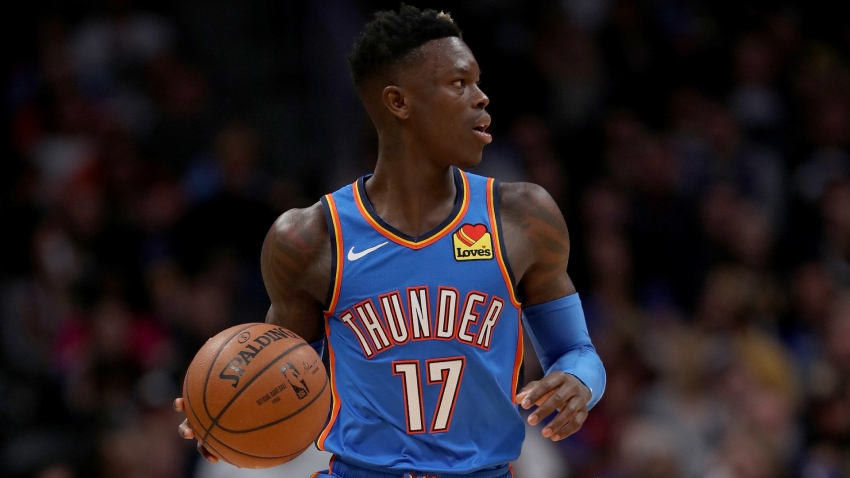 Thunder G Dennis Schroder to leave NBA bubble when wife gives birth