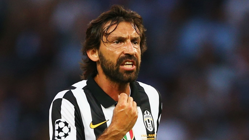Mancini: Pirlo is lucky but a good choice for Juventus