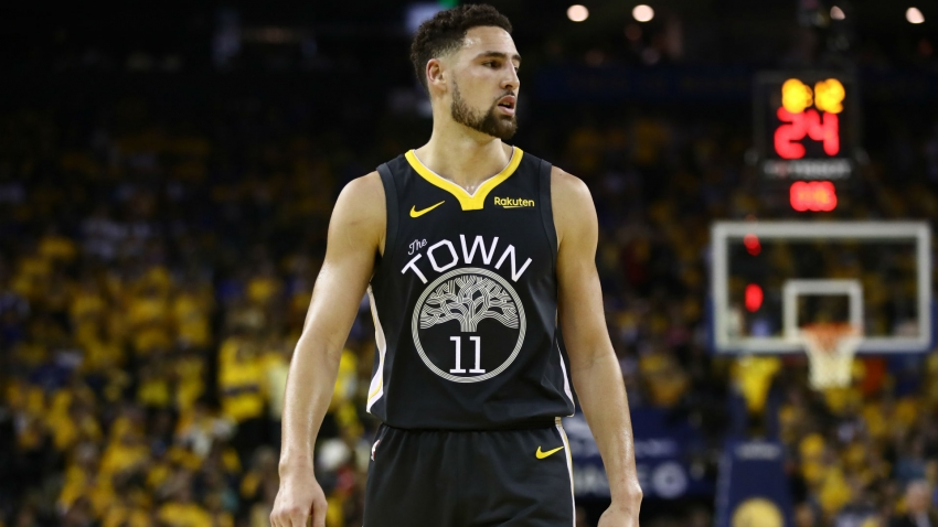 Warriors sweating on Thompson's fitness after leg injury