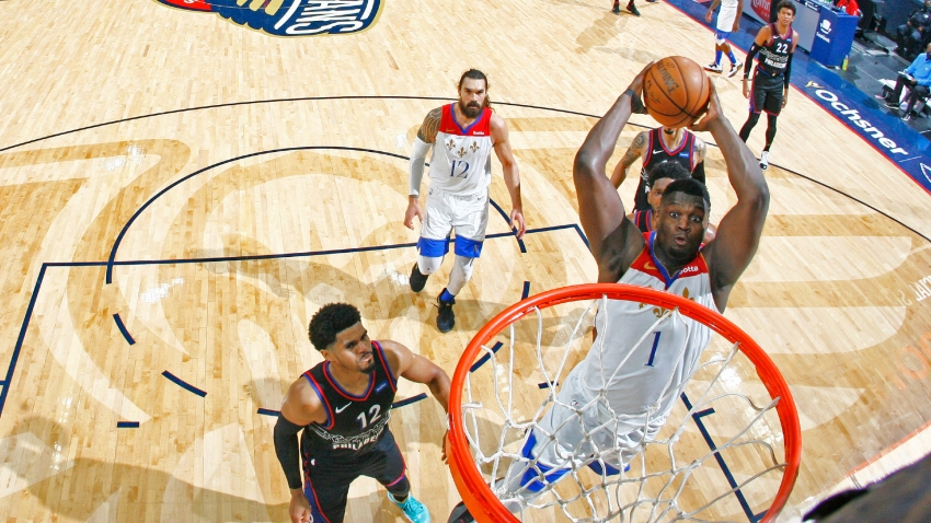 Williamson's T-Spoon tribute as Zion shines in Pelicans win