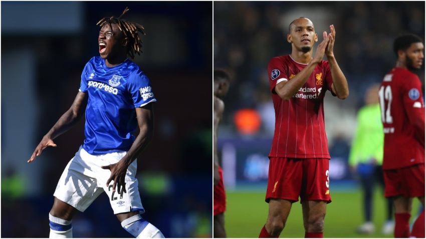 Silva compares Everton's Kean to Liverpool favourite Fabinho
