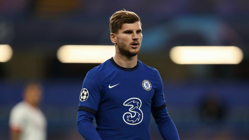 Lampard 'very happy' with Werner despite Chelsea's back-to-back blanks