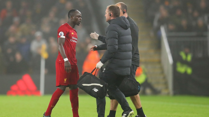 Mane has a hamstring issue, Klopp confirms