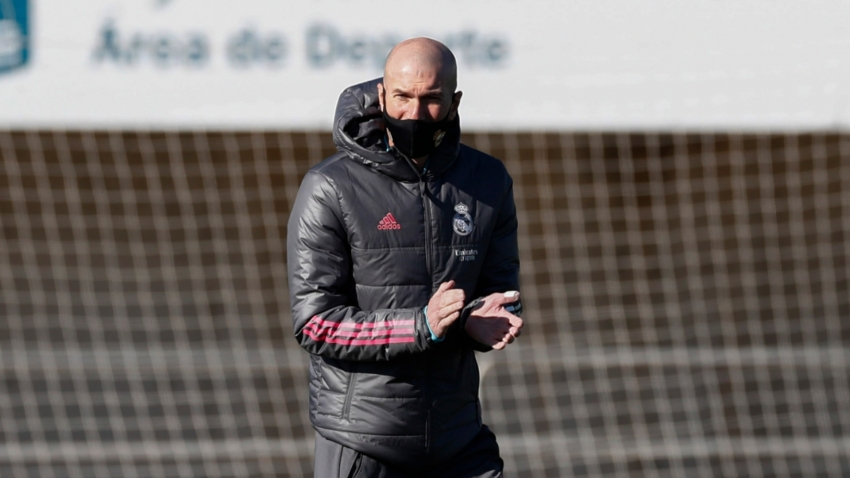 Zidane takes Madrid training after self-isolation, Perez positive for COVID-19