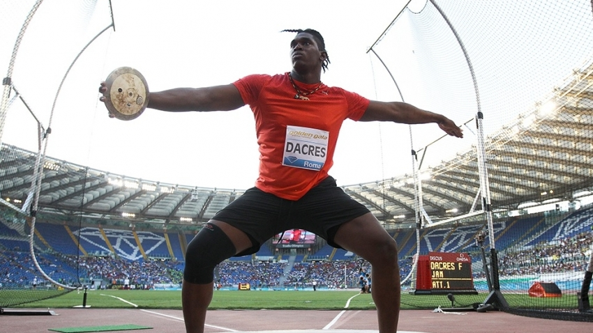 Dacres takes discus gold, silver for Thomas-Dodd at Paavo Nurmi Games
