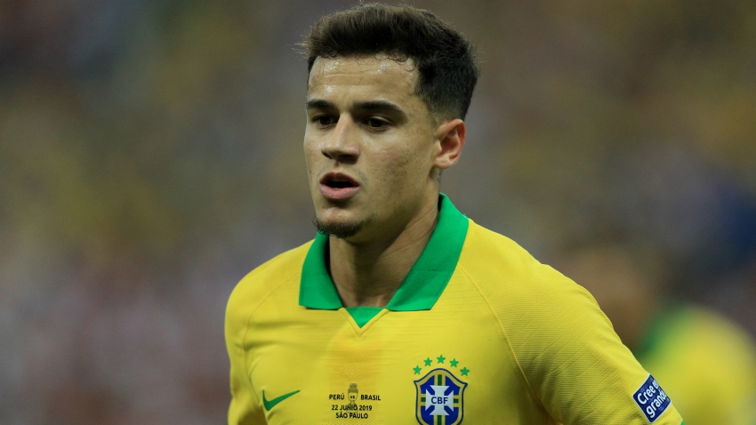 Coutinho set for month out, according to Brazil doctors