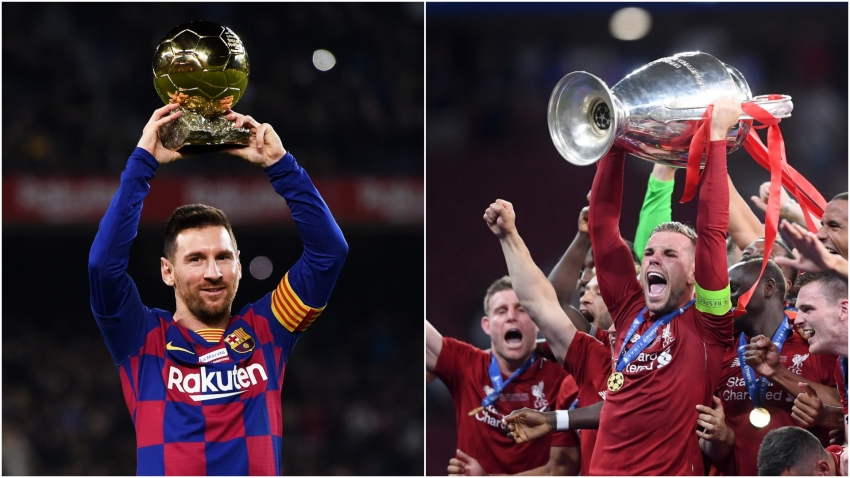 Messi and Liverpool among the big-name nominees at Laureus World Sports Awards