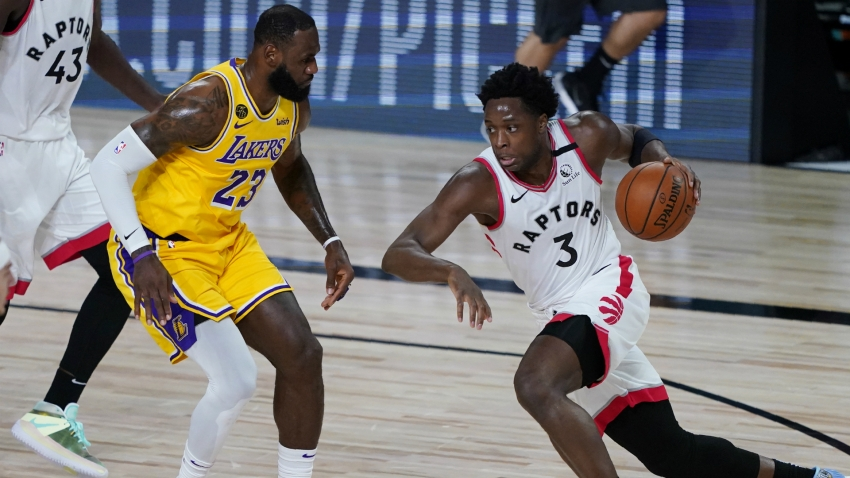 Raptors top LeBron's Lakers, Pacers' Warren scores career-high 53