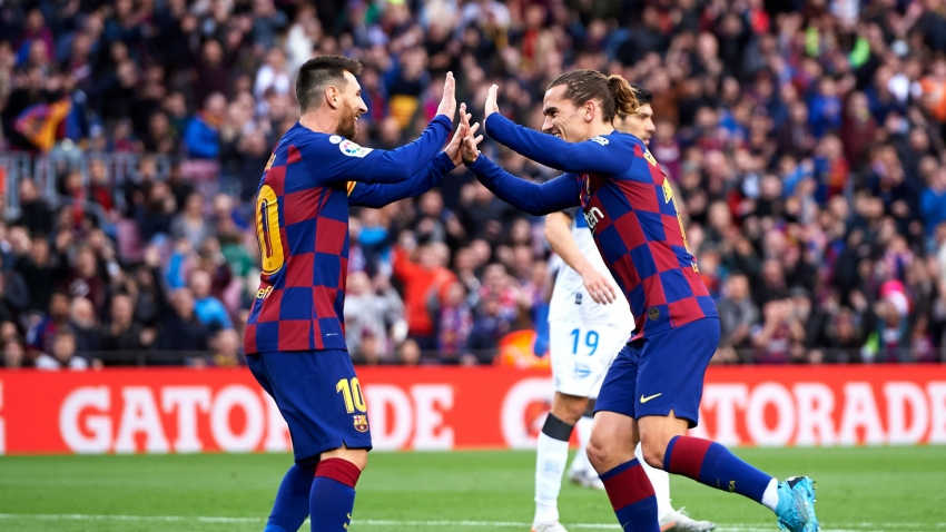Griezmann still learning to play alongside Messi
