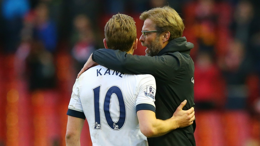 Klopp: I feel for injured Kane - now let's think about demands on players