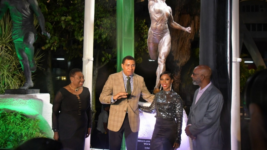 Shelly-Ann Fraser-Pryce: Statue ranks high among best moments