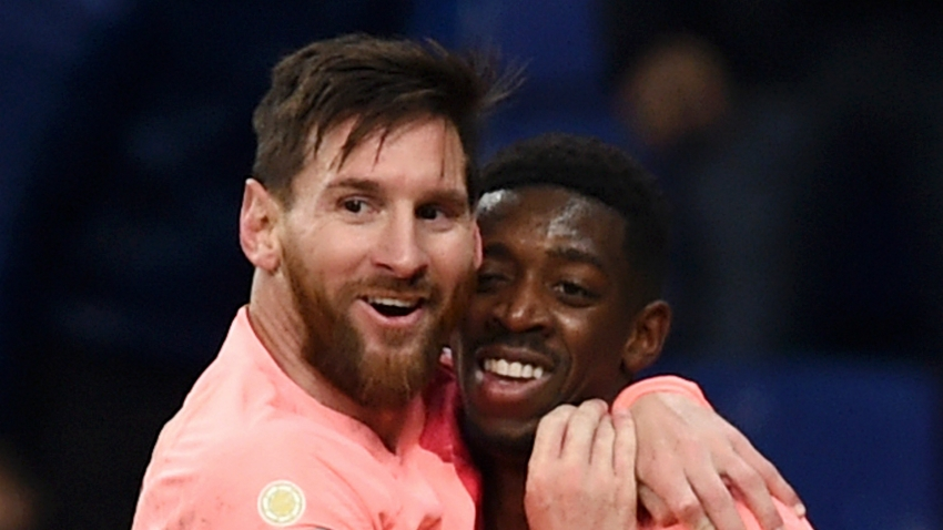 Messi tells Dembele to step up and be more professional at Barcelona