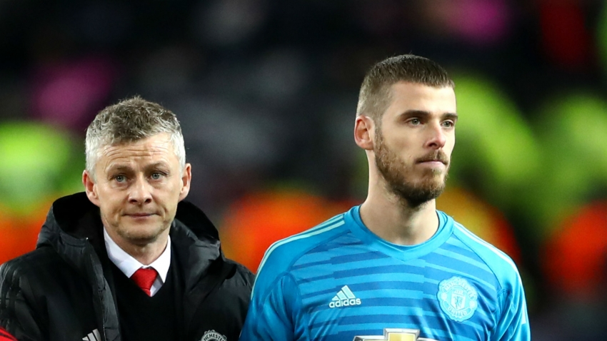 Man United players have faith in Solskjaer, says De Gea