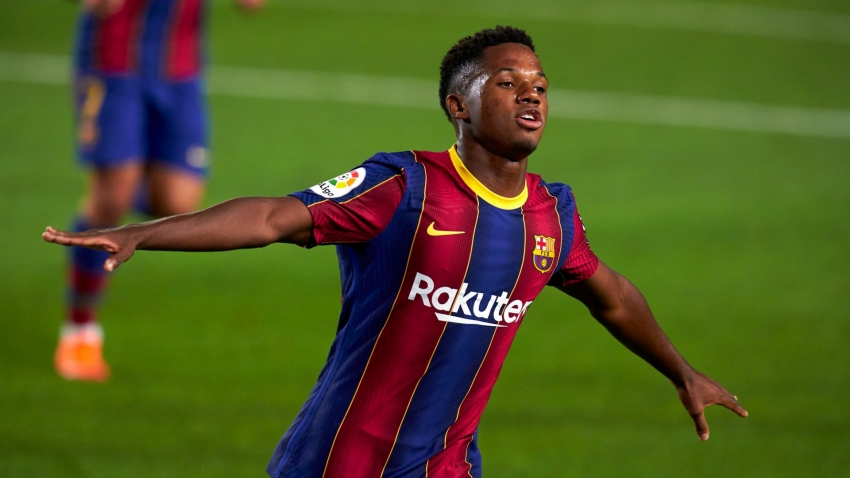 Fati thrills Koeman but Barca boss tempers excitement: 'He lacks a bit of concentration'
