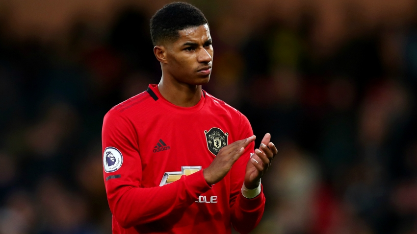Man Utd star Rashford kicks on in recovery from back injury