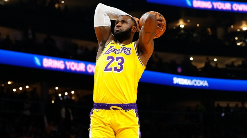 LeBron leads Lakers, Nets crush 76ers